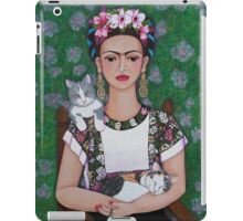 Frida cat lover iPad Case/Skin