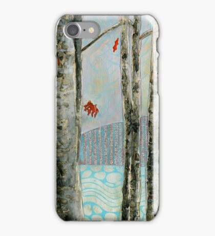 Mosquito Creek, mixed media on board iPhone Case/Skin