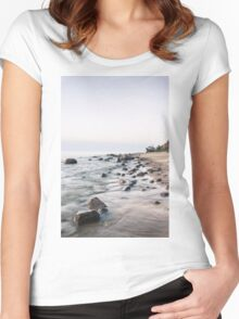 Baltic seashore Women's Fitted Scoop T-Shirt