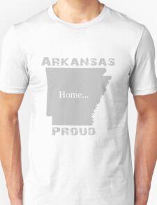 Arkansas Proud Home Tee T-Shirt