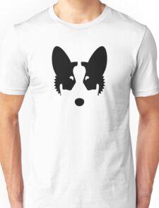 Corgi Ink Blot Unisex T-Shirt