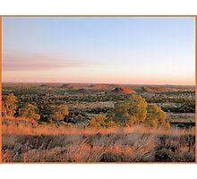 Tennent Creek Surrounding Desert Photographic Print