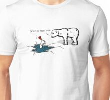 How much does a polar bear weigh? Unisex T-Shirt