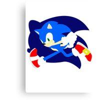 Super Smash Bros Sonic Canvas Print