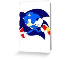 Super Smash Bros Sonic Greeting Card