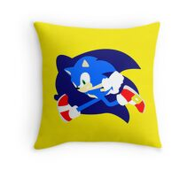 Super Smash Bros Sonic Throw Pillow