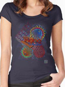 """Nano Tubular""© Women's Fitted Scoop T-Shirt"