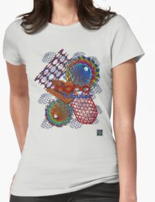 """Nano Tubular""© Womens Fitted T-Shirt"