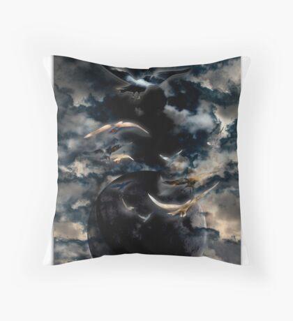 World Flight Throw Pillow