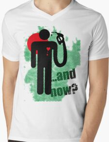 ...and now? Mens V-Neck T-Shirt