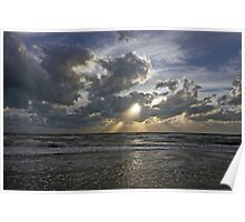 Gulf of Mexico Sunset Poster
