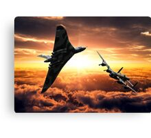 Avro Sisters  Canvas Print