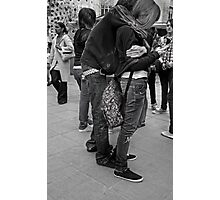 phone hug Photographic Print