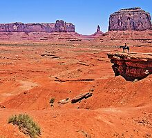 John Ford's Point, Monument Valley, Utah, USA by TonyCrehan