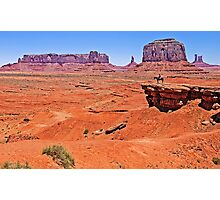 John Ford's Point, Monument Valley, Utah, USA Photographic Print