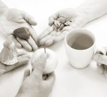 Hands: Sharing by Lenka