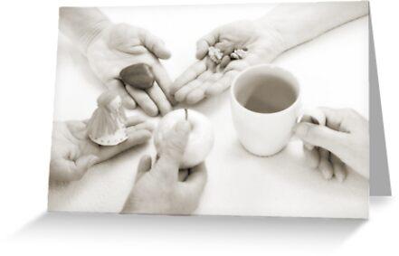 Hands: Sharing by Lenka