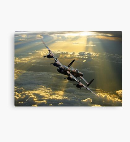 Above the heavens Canvas Print