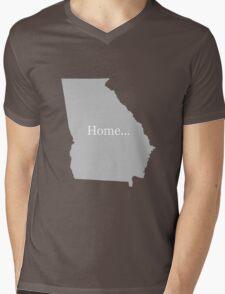 Georgia Home Tee Mens V-Neck T-Shirt