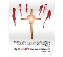 By His Stripes We Were Healed! Poster