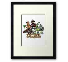 Guardians of the Gymnasiums Framed Print