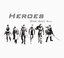 Heroes Landscape (Dark) T-Shirt