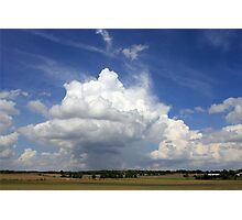 Clouds Over Jefferson County Photographic Print