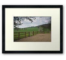 Titsey Gardens Framed Print