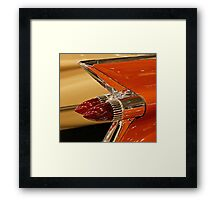 1959 Cadillac Convertible Tail Fin Framed Print