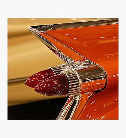 1959 Cadillac Convertible Tail Fin Photographic Print