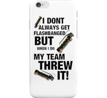 Team Flash! iPhone Case/Skin