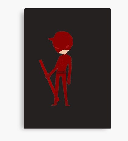 Chibi Daredevil  Canvas Print