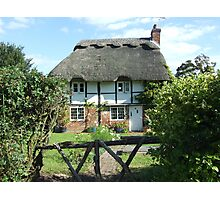 A Country Cottage Photographic Print