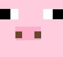 minecraft pig. by mariamm01