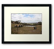 Country Victoria Farm Landscape Framed Print