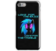 Love For The Bass iPhone Case/Skin