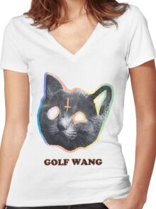 Odd Future Women's Fitted V-Neck T-Shirt