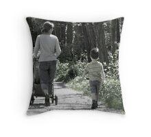 Parenthood Throw Pillow