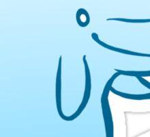Cutie Beluga Sticker