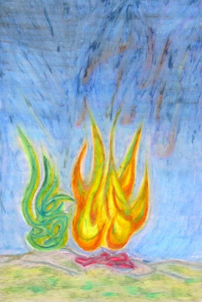 Night Blaze by Luke Brannon