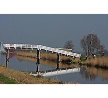 Bycycle Bridge Photographic Print