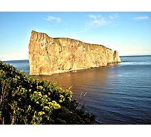 View of Rock Ocean  Photographic Print