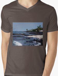 Beach Day Mens V-Neck T-Shirt