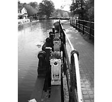 Guildford Weir Photographic Print