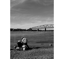 Fishing Together Photographic Print