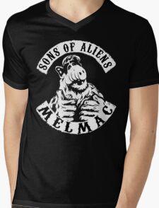 Sons of Aliens: ALF Mens V-Neck T-Shirt