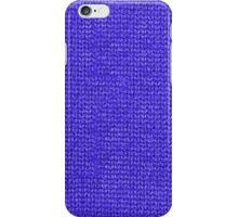 Blue Knit iPhone Case/Skin