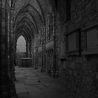 HolyRood Abbey by Keith Jones