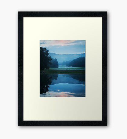 The Smoky Mountains Framed Print
