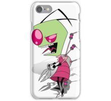 Zim and his scissors iPhone Case/Skin